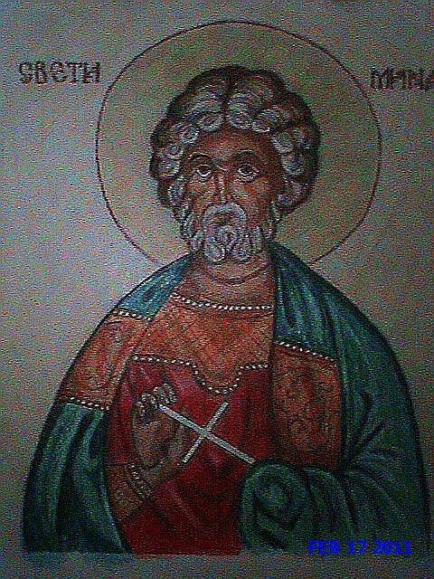 Saint Menas by lucysh